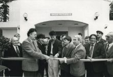 Georges Frêche inaugure Victoire 2 - 1987